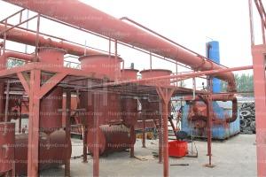 15 ton waste tyre pyrolysis