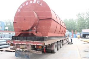 continuous plastic pyrolysis