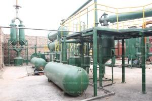 diesel refineing plant
