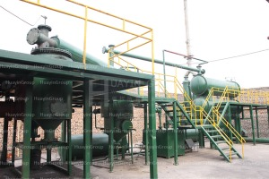 engine oil refinery plant