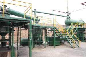 engine oil refining machinery