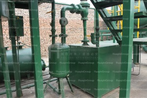 plastic waste recycling to oil machine