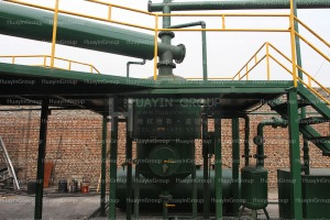 plastic waste recycling to oil