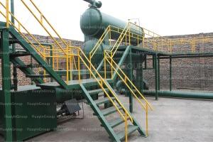 pyrolysis oil refinery