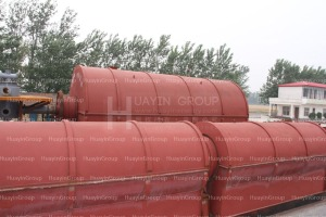 pyrolysis plant for oil