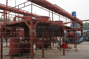 waste refinery equipment