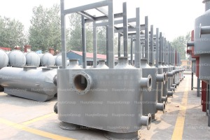 Waste tires oil refining equipment