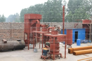 waste tyre pyrolysis process